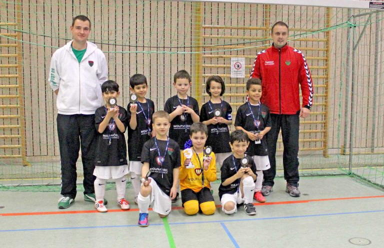Bei der U-9 ging der 1. FC Schweinfurt 05 als Sieger hervor.